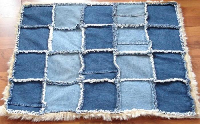 DIY denim dog accessories pet bed