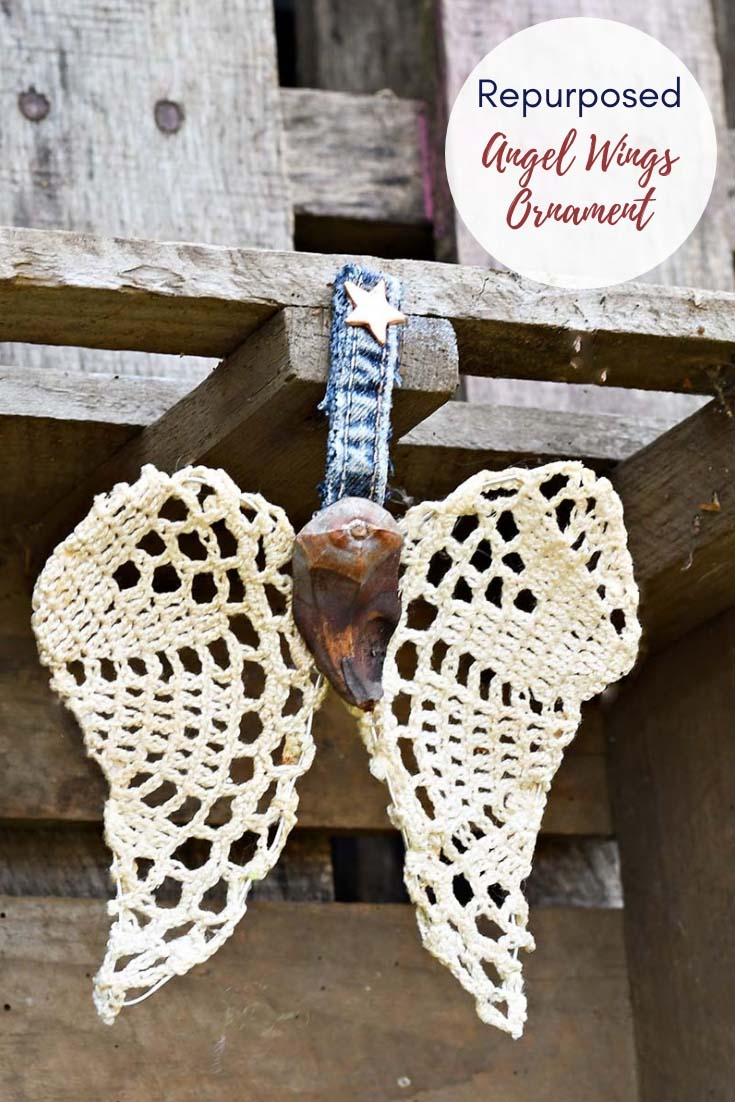 How To Make A Beautiful Angel Wings Christmas Ornament ...