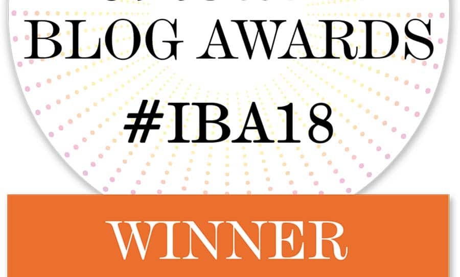 IBA craft blog winner