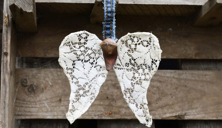 How To Make A Beautiful Angel Wings Christmas Ornament
