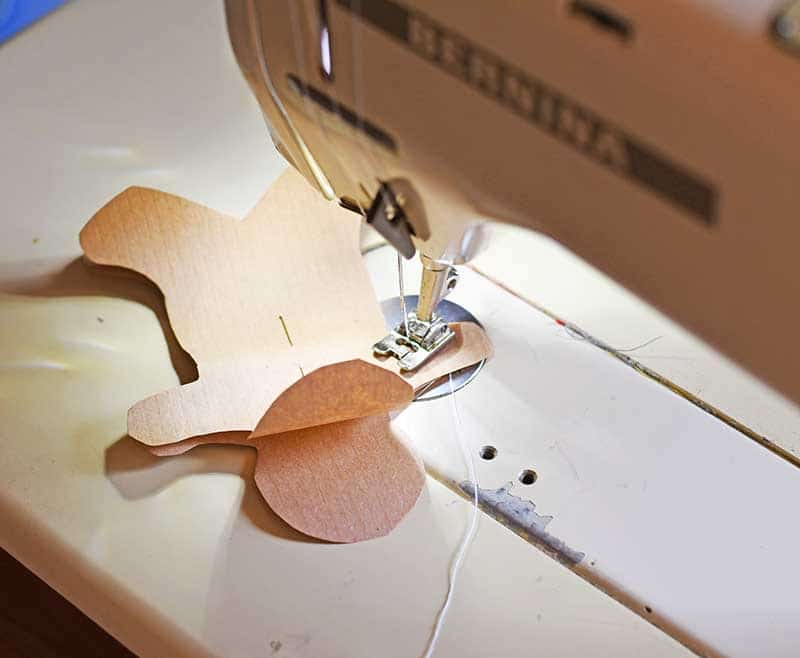 sewing gingerbread man