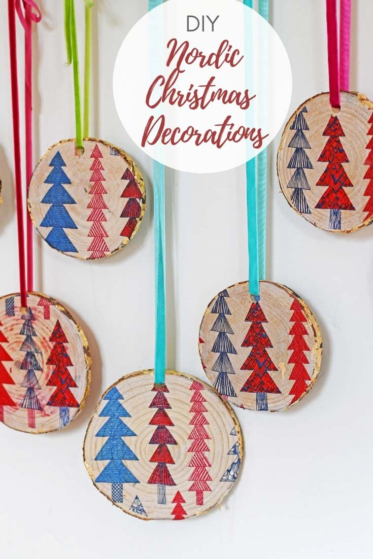 DIY Nordic Christmas Decorations