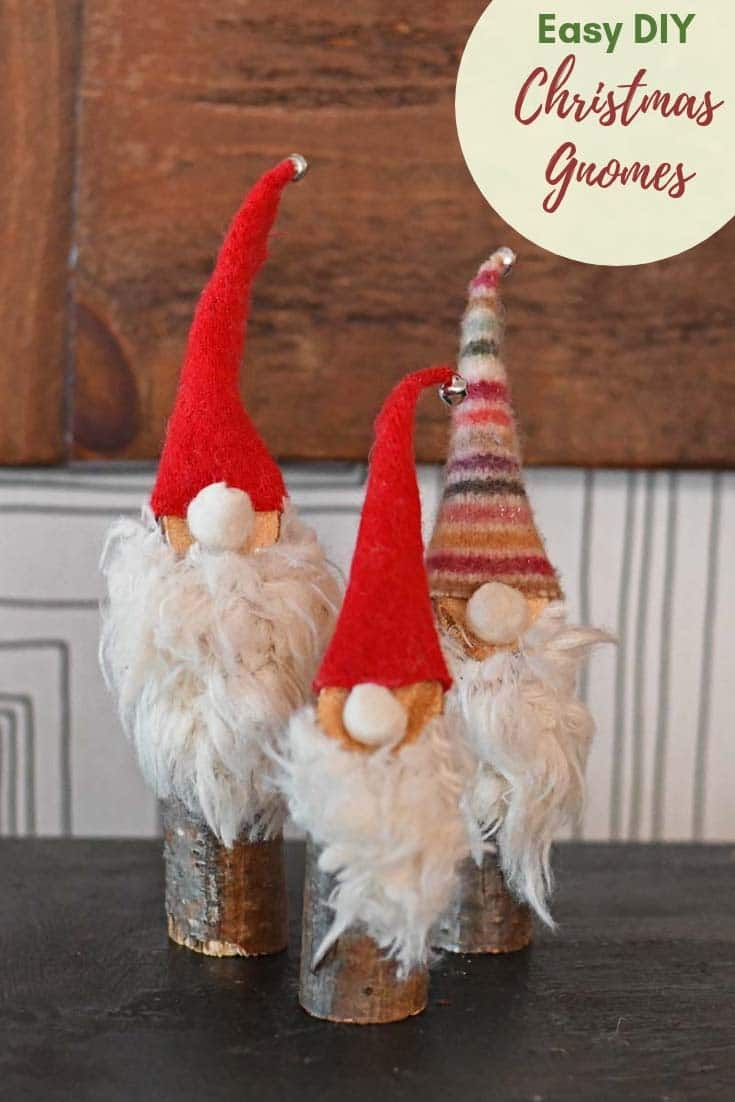 10 minute Norwegian Christmas Gnomes