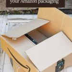upcycled amazon packaging