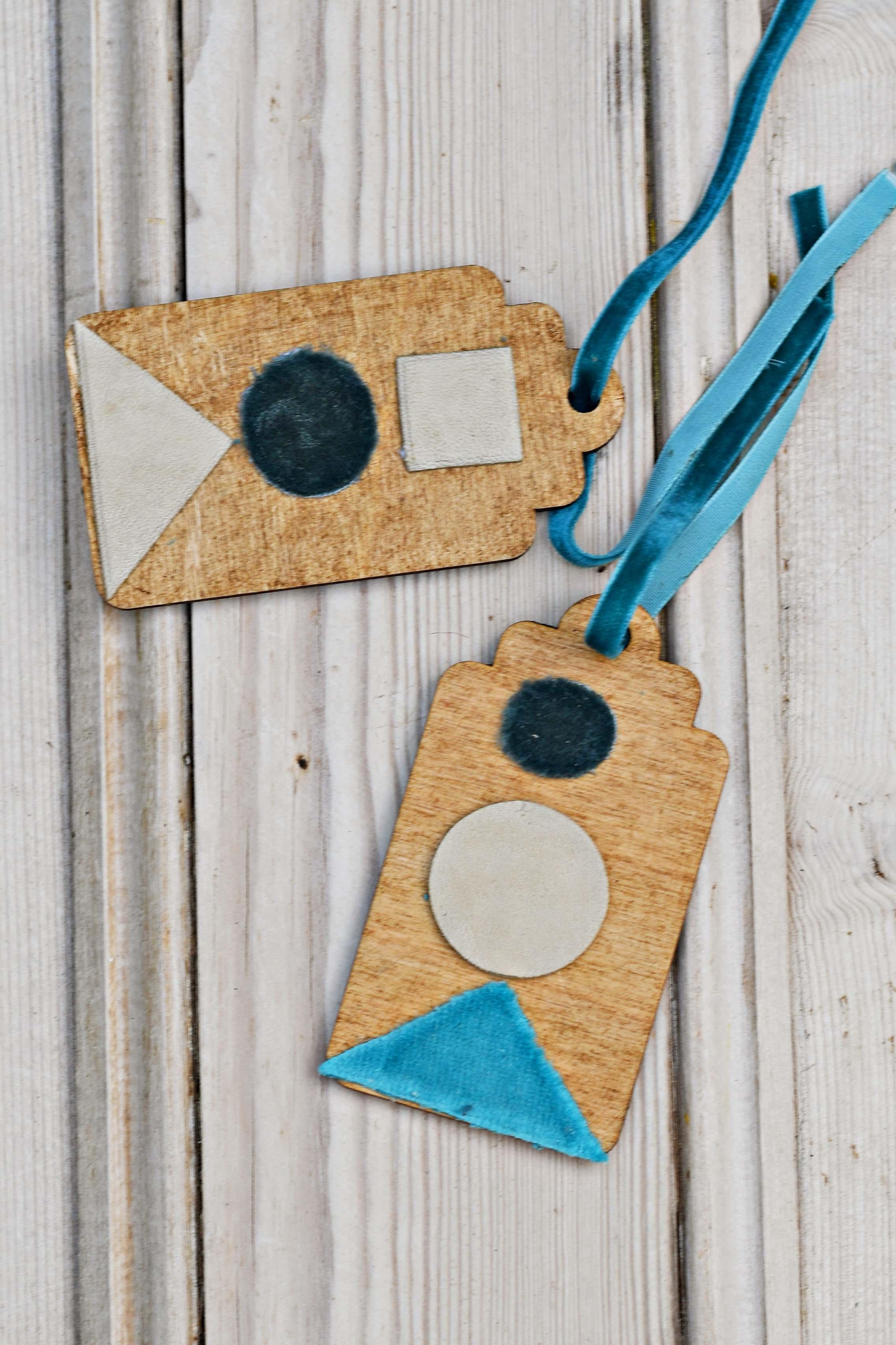 Geometric Gift tags