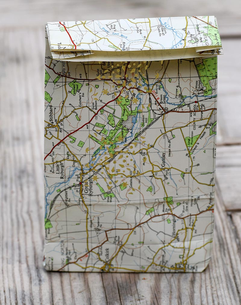 finished map luminary bag