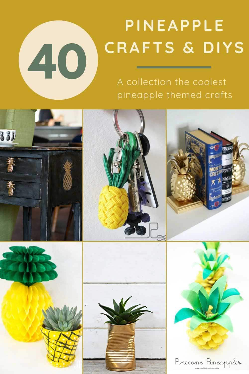 40 0f the best pineapple themed crafts