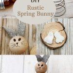 Cute Rustic Spring Bunny