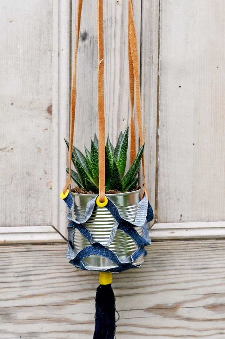 How To Make Indoor Recycled Hanging Planters