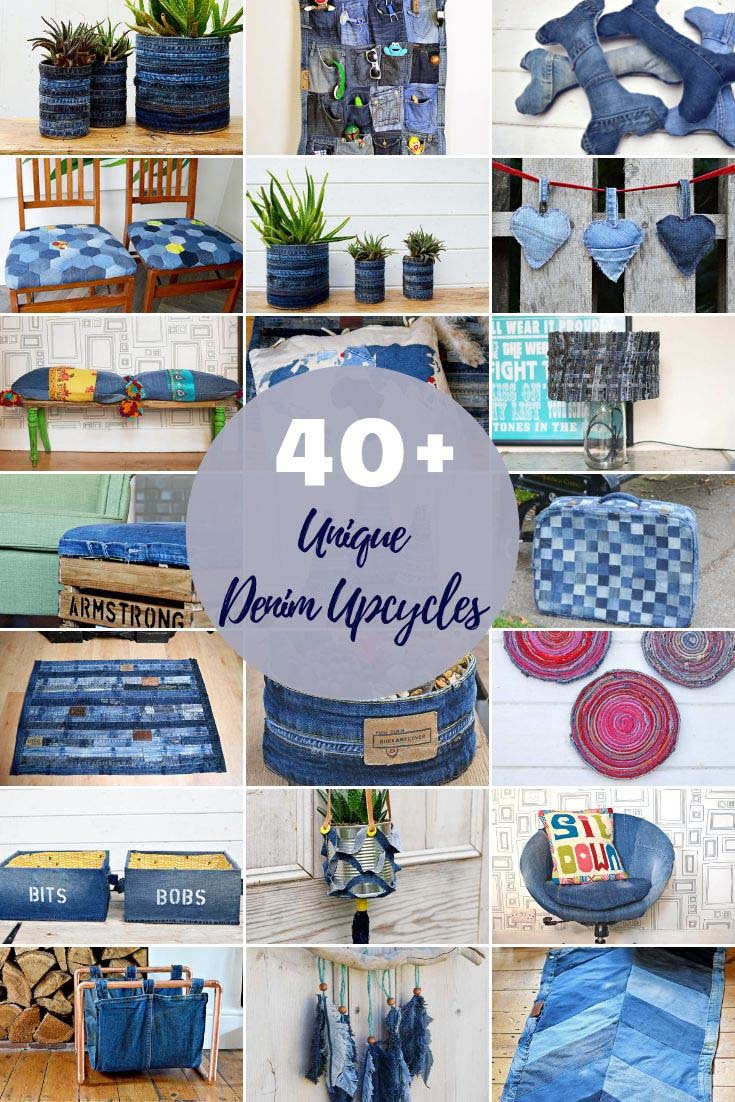 40 denim upcycles