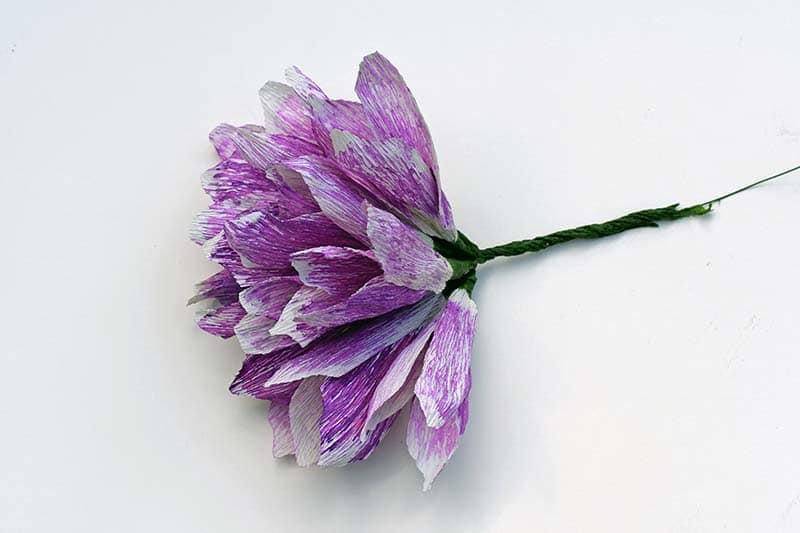 Boho giant paper flower