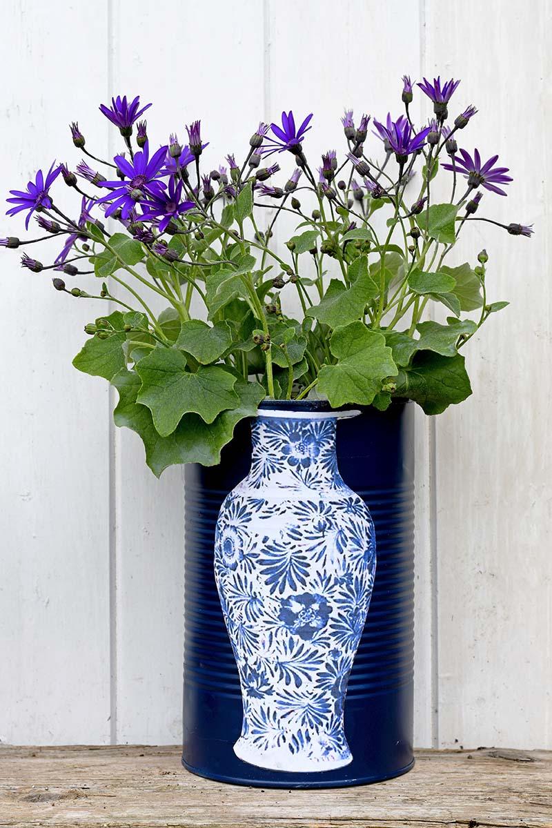 Ming DIY vase flower pots tall