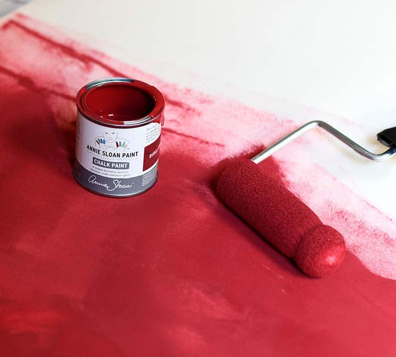 painting lining paper