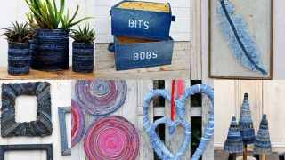 What to Make from old jeans no-sew
