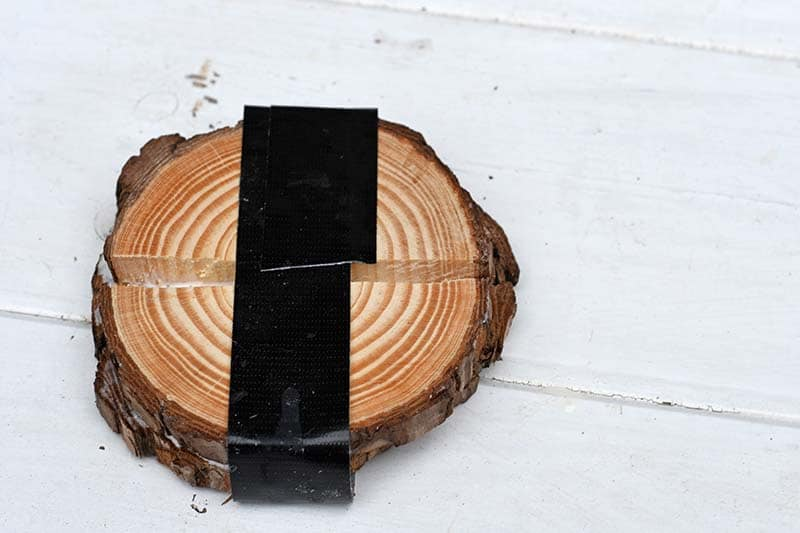 Wood slice drying