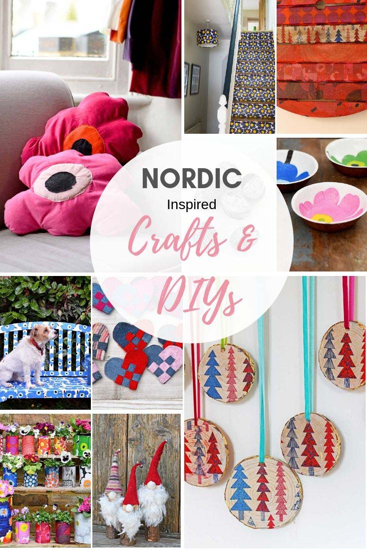 Scandinavian and Nordic crafts with Marimekko