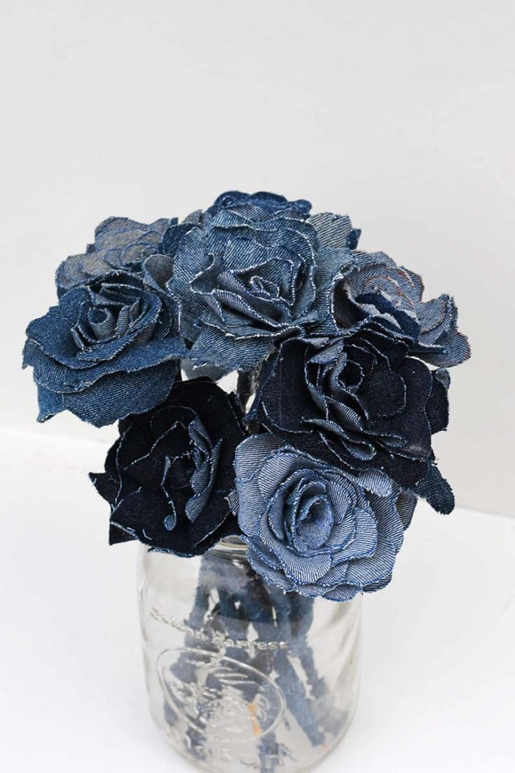 How To Make Denim Flowers