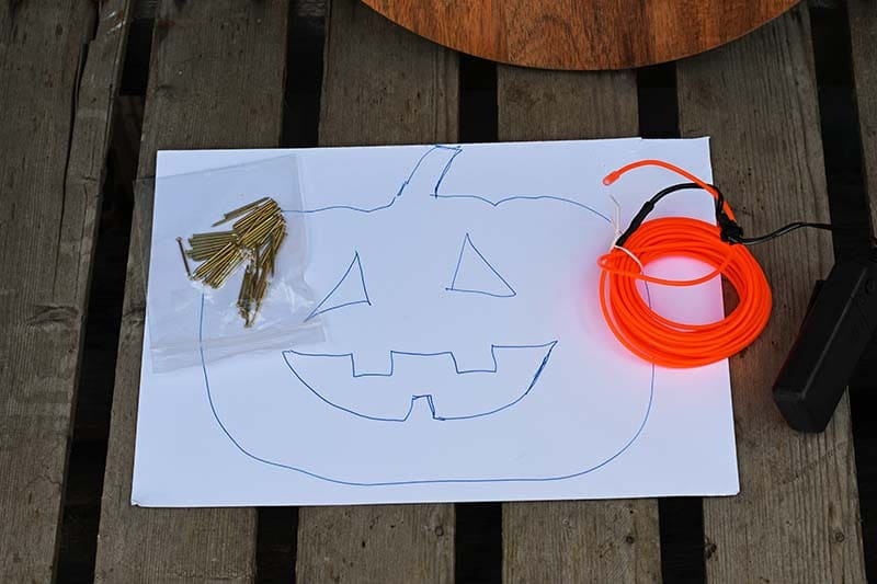 what you need for light-up pumpkins