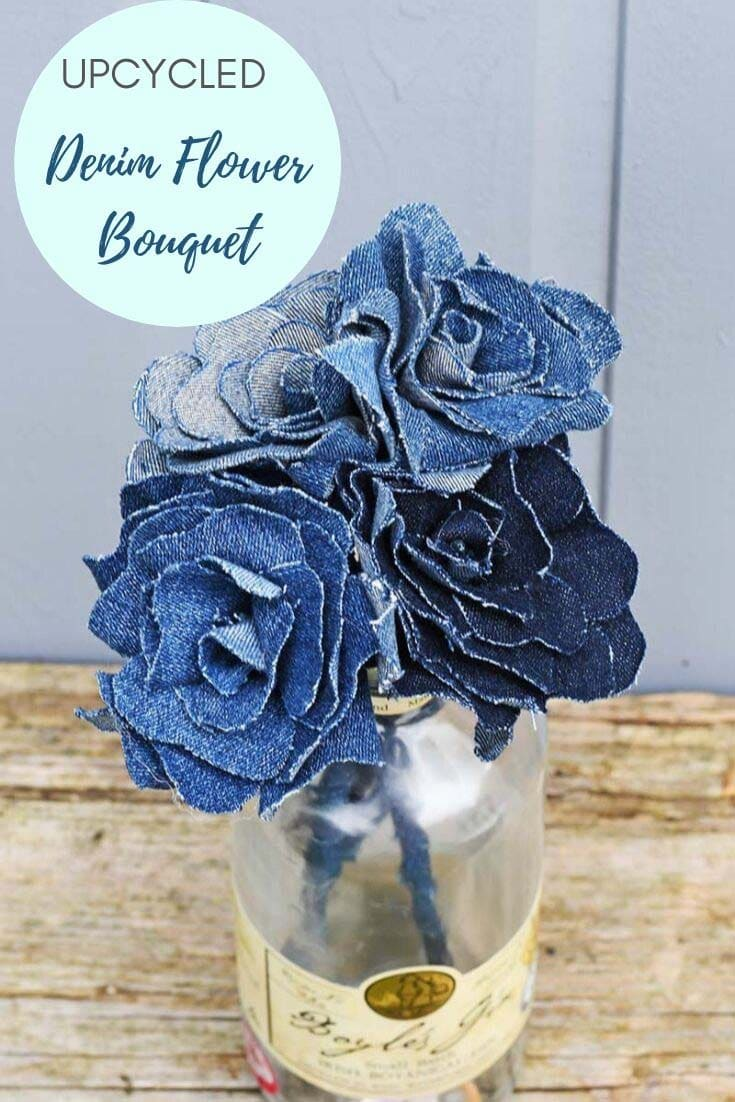 faux flower bouquet