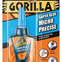 GORILLA GLUE 4044700 Gorilla Super Glue Micro Precise Translucent