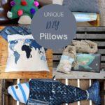 Unique DIY pillow cover ideas