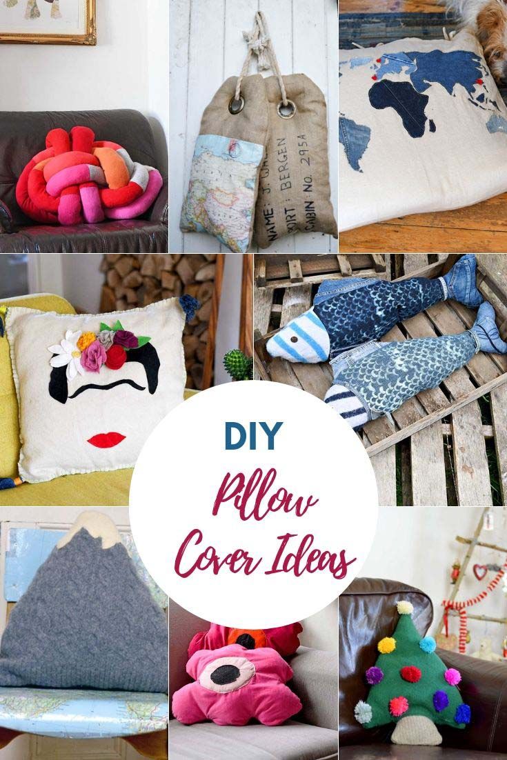 DIY pillow colours idea