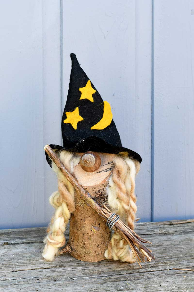 Witch Halloween gnome