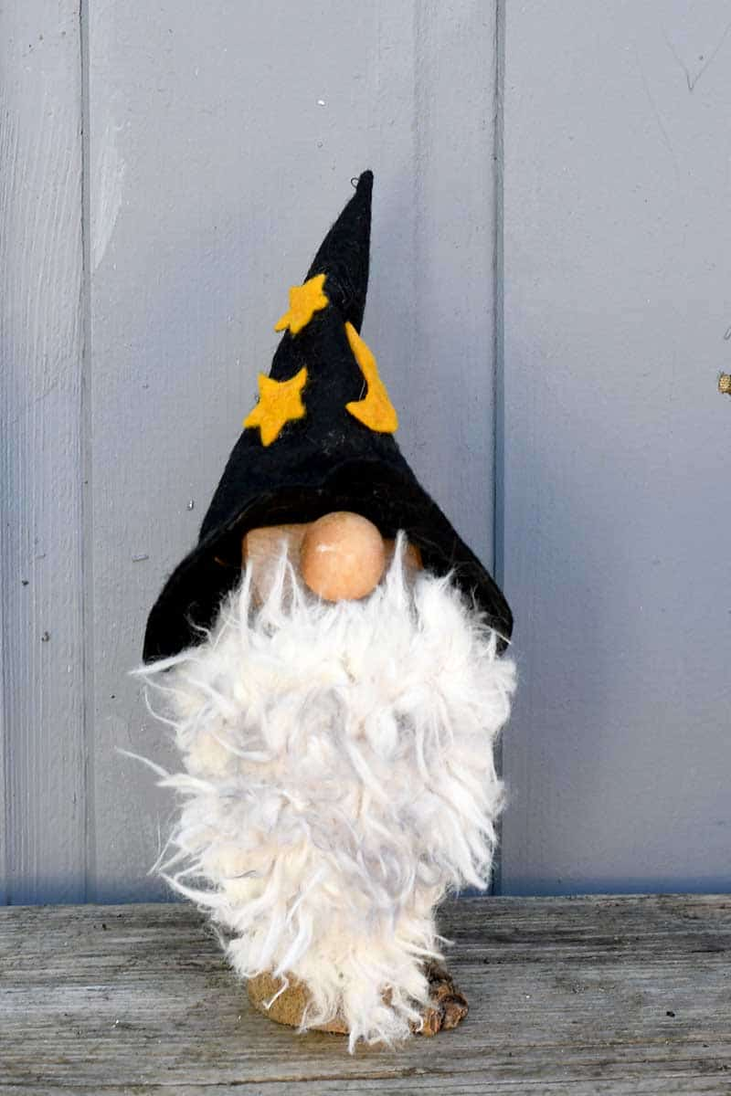 Wizard Halloween gnome