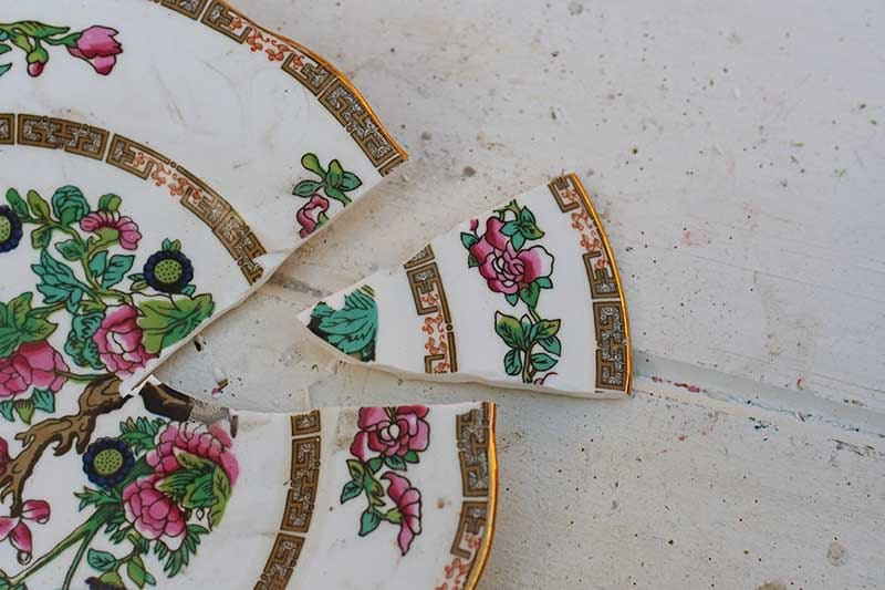 how to upcycle china plates
