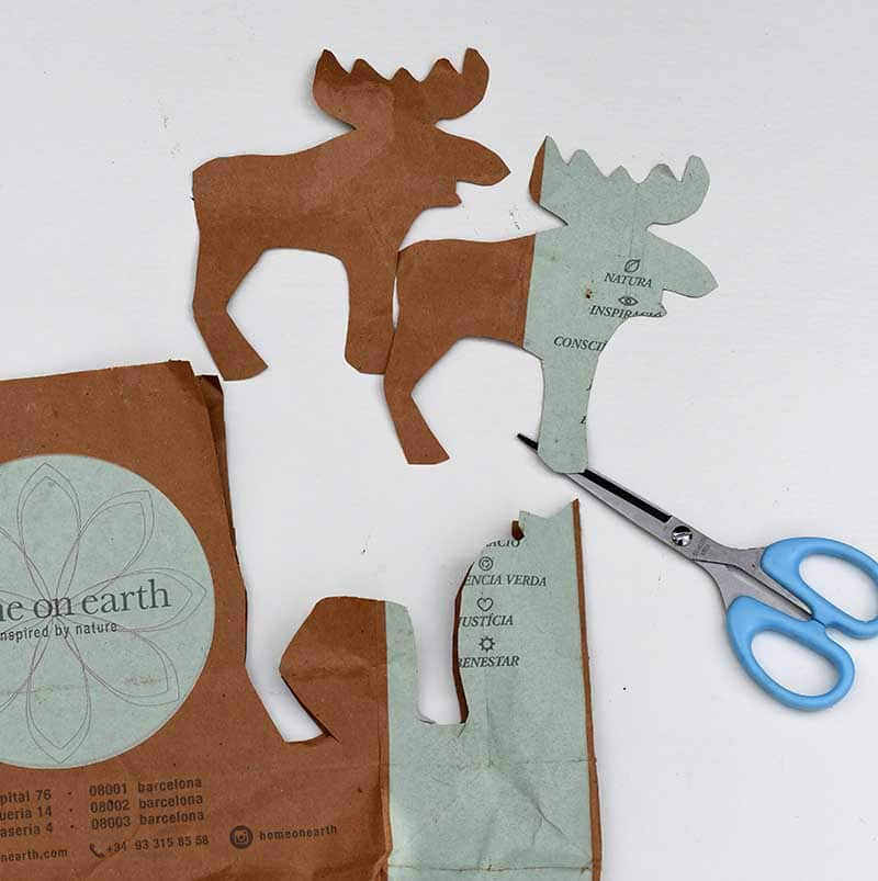 cutting out christmas shapes s
