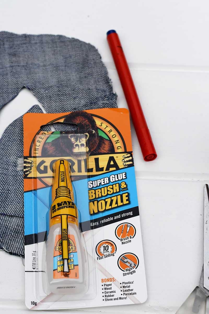 Gorilla brush and nozzle