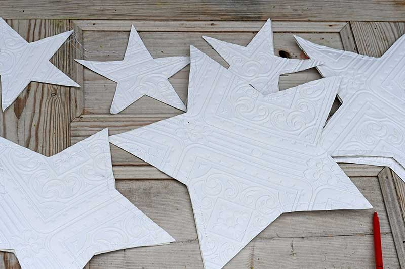 How to make paper stars variety of sizes