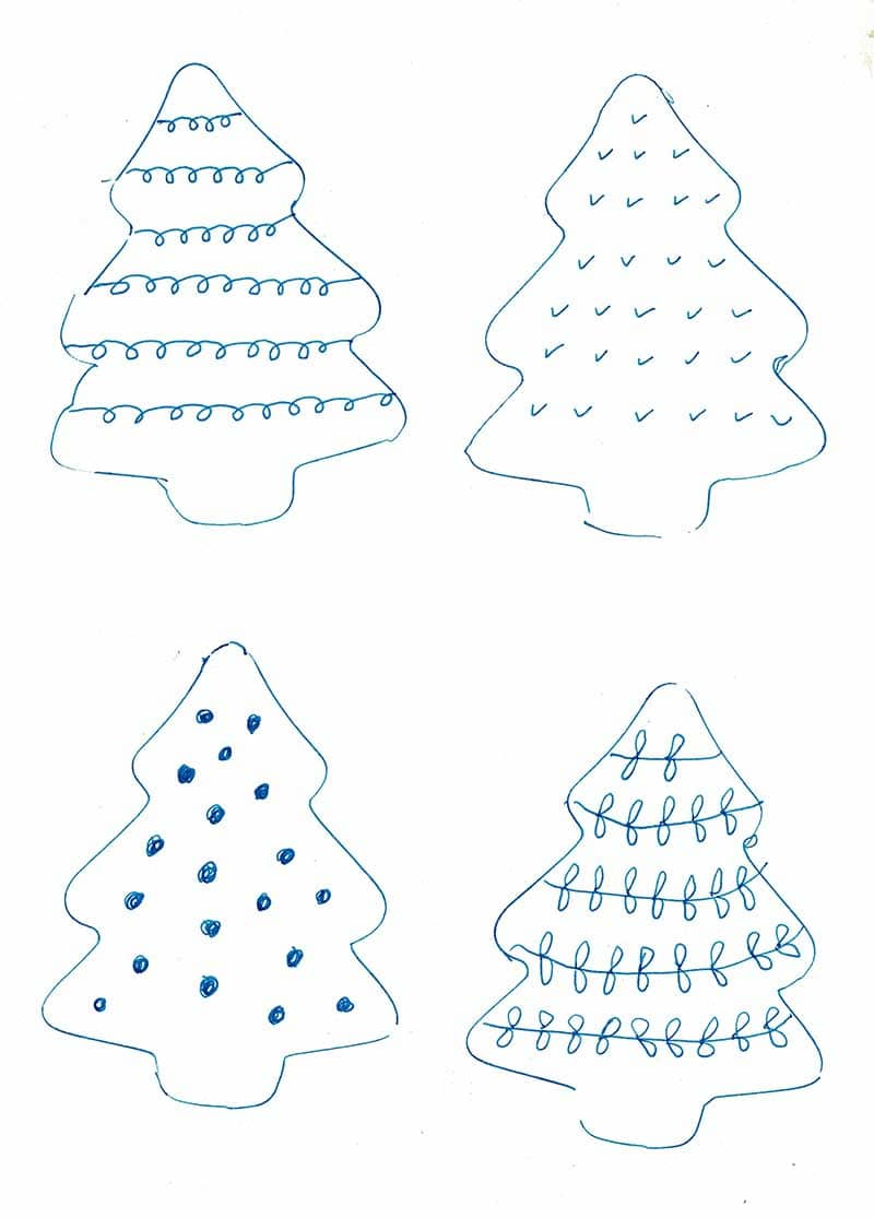 Felt Christmas Tree Pattern.A Simple Cute Scandi Felt Christmas Craft For Your Home