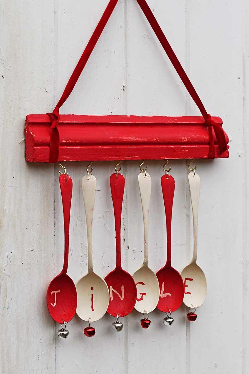 jingle spoon decoraiton