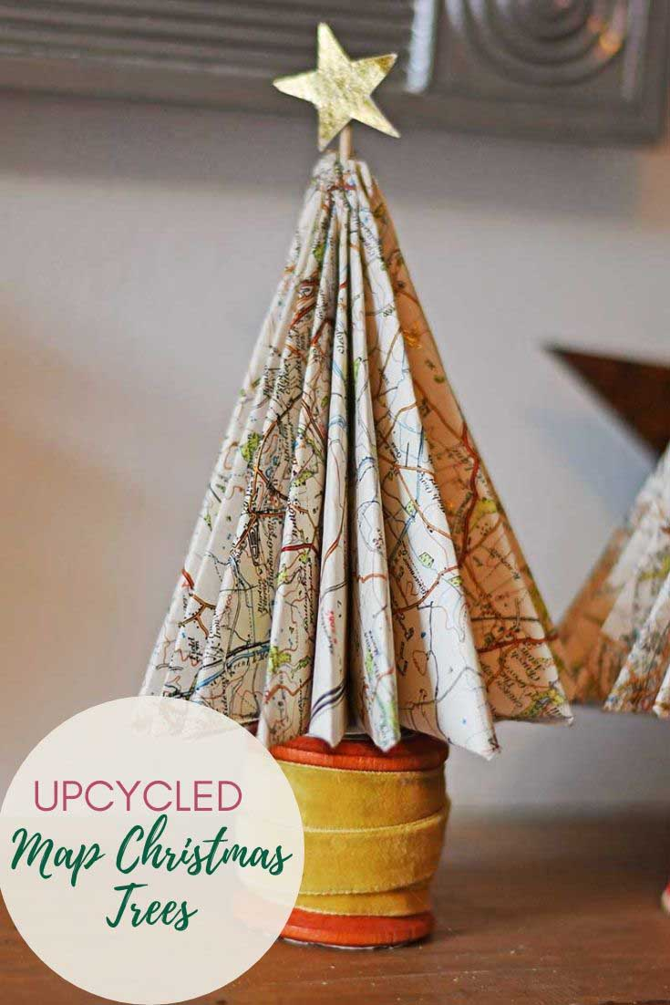Map Christmas trees