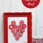 DIY rustic heart for Valentines