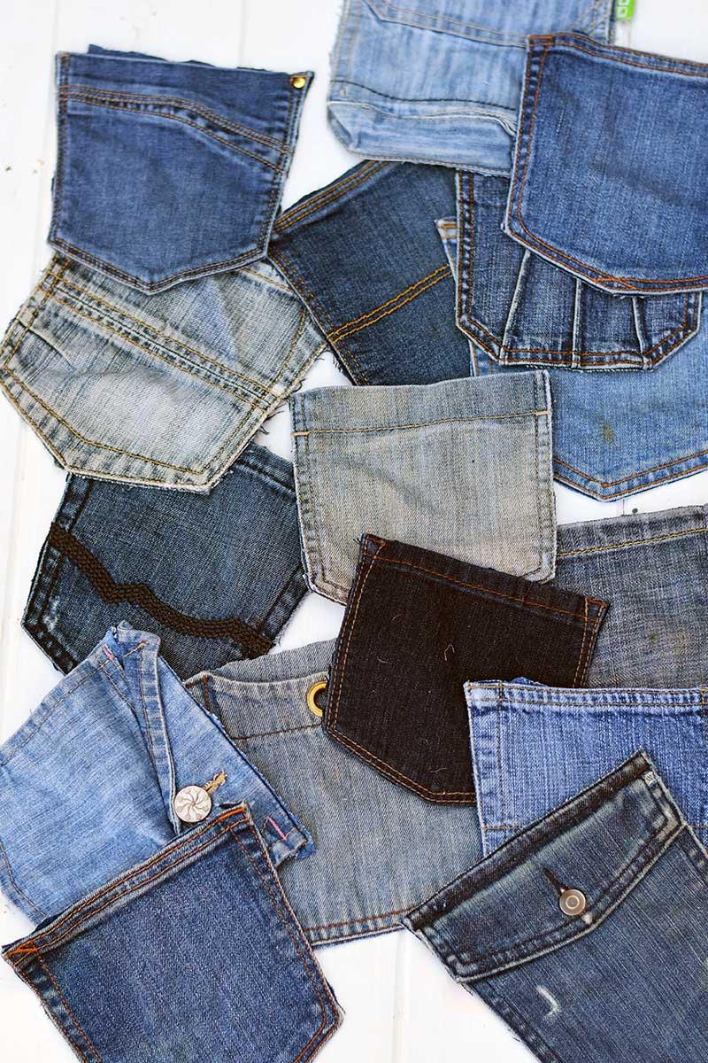 denim jeans pockets