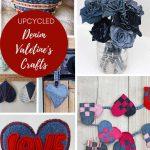 Denim valentine's crafts