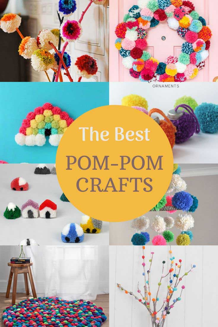 the best DIY pom-pom crafts
