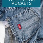 what to do with jeans pockets