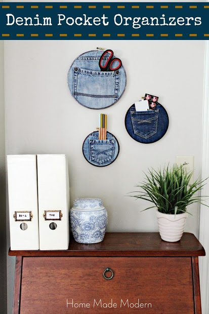 Denim Pocket Organizers (Trend Alert)