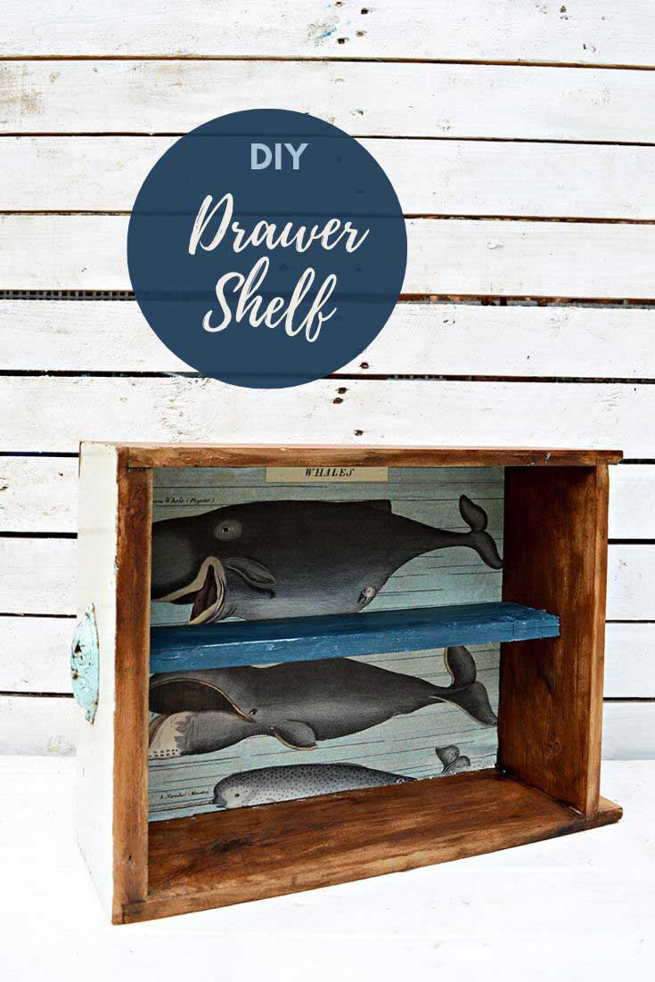 Upcycle drawers storage