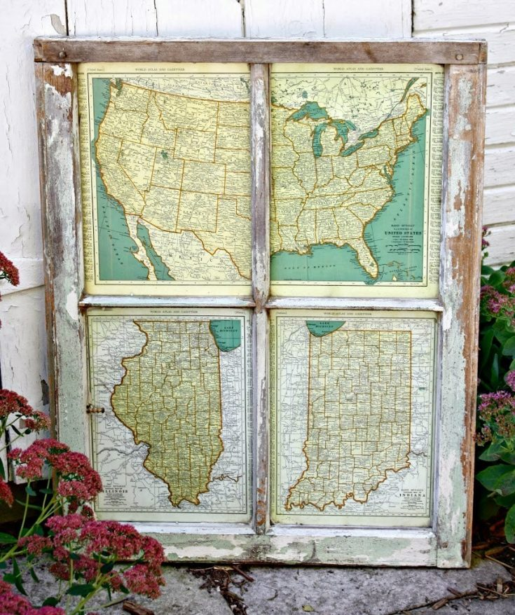 DIY Map Project: Window to the World