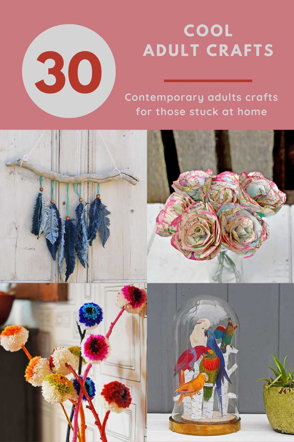 Cool adult craft ideas