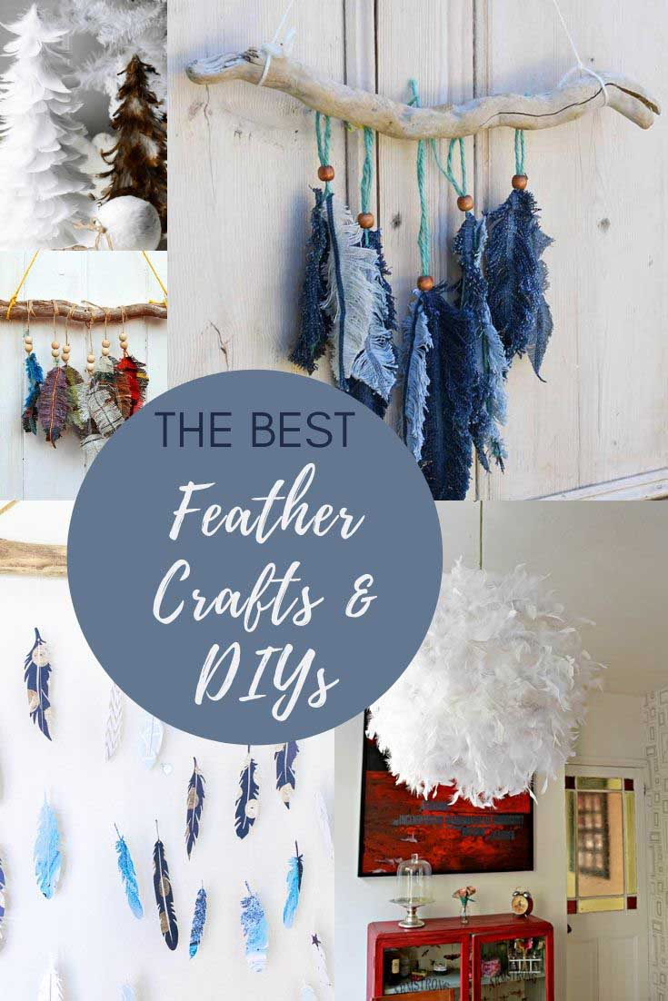 The best feather crafts and DIYs