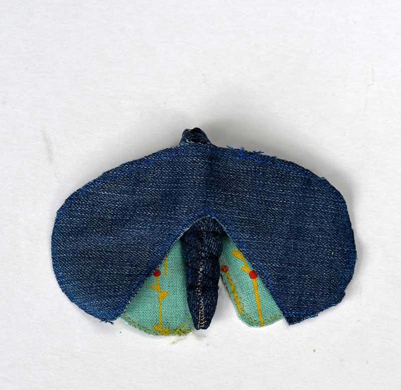 Making faux moth taxidermy