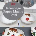 Step by step paper mache