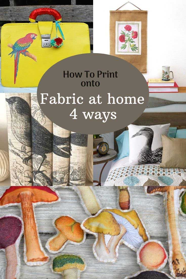 How to print fabric at home 4 ways 2