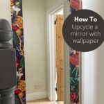 IKEA Mirror wallpaper hack
