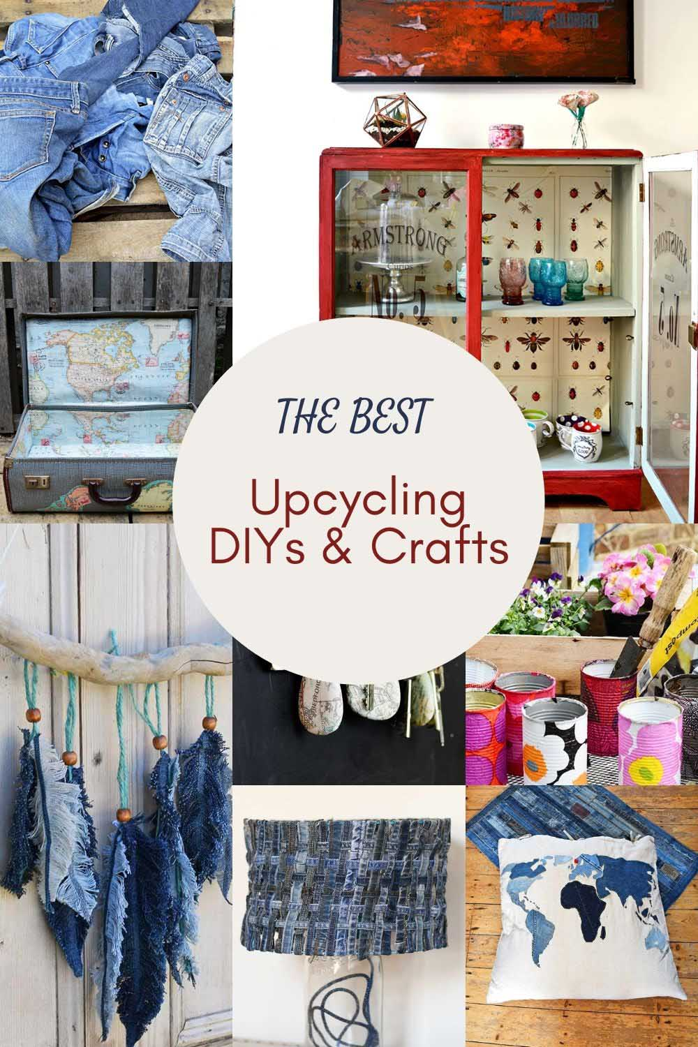 Upcycling DIY and crafts for the home